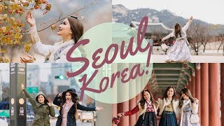 SEOUL KOREA TRAVEL DIARY! BEST FOOD, MOMENTS, OUR OWN K-DRAMAS AND MORE! 😂  | JANEENA CHAN