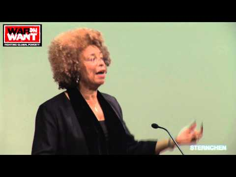 Angela Davis on Palestine, G4S and the Prison Industrial Complex