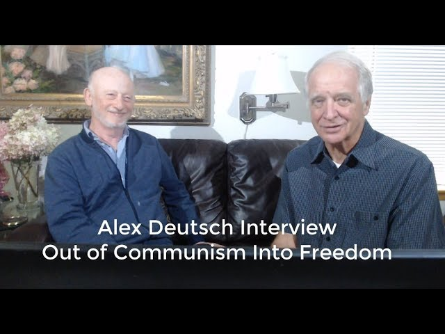 09-10-19 Alex Deutsch Testimony - Out of Communism Into Freedom