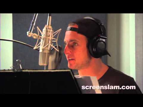 "The Lego Movie: Will Arnett ""Batman"" Voice Recording Behind the Scenes (Broll)"
