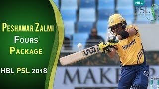 Peshawar Zalmi Fours | Peshawar Zalmi Vs Islamabad United | Match 4 | HBL PSL 2018 | 24 Feb | PSL