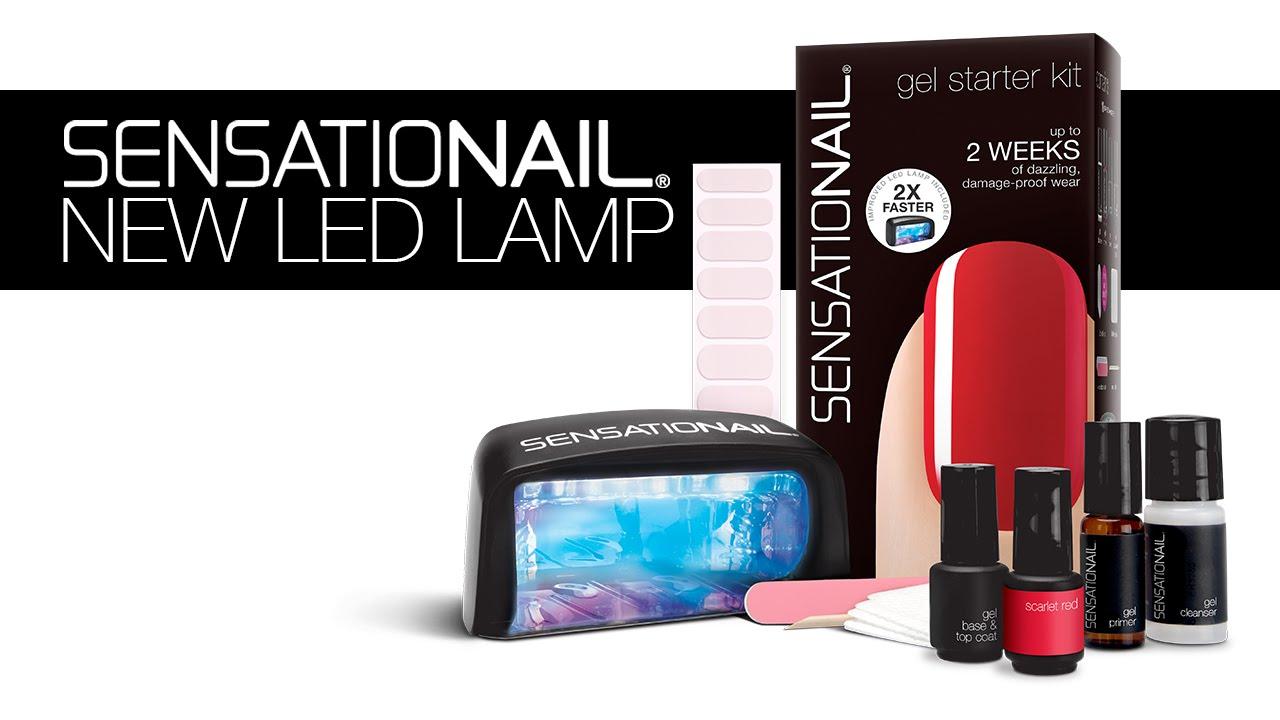 New 2x Faster SensatioNail LED Lamp - YouTube