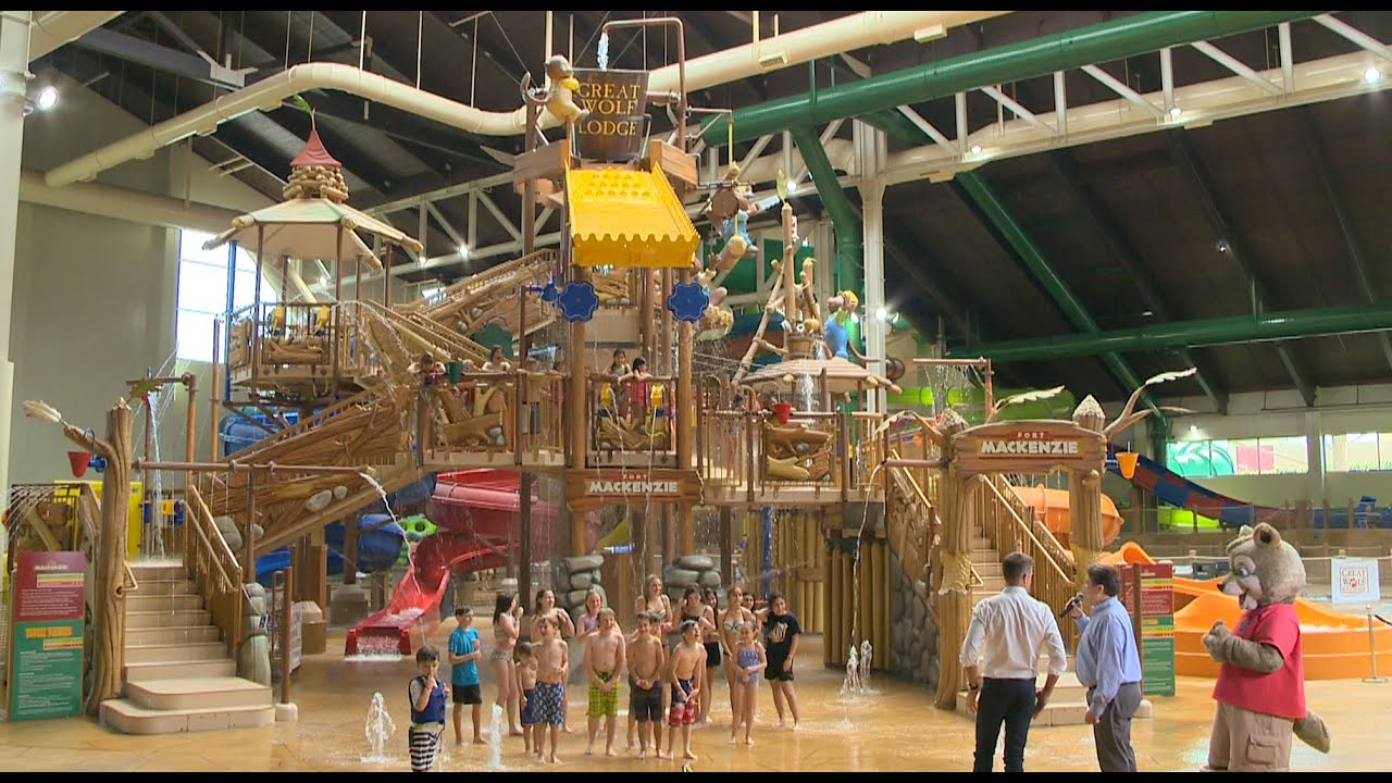 great wolf lodge southern california opens in garden grove youtube - Great Wolf Lodge Garden Grove Ca