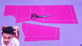 Simple Suit Cutting - Choti Magar Moti Bathe - #13