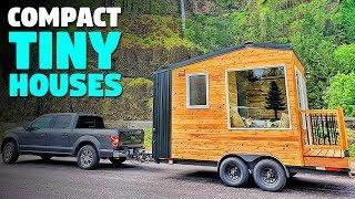 Compact Micro Tiny House On Wheels