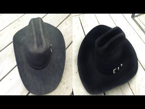 Felt Hat Cleaning