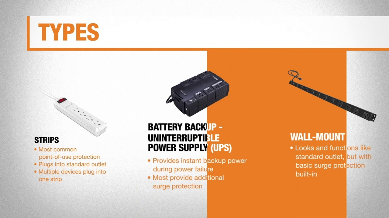 Best Surge Protectors for Your Home - The Home Depot