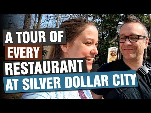 ON PARK TOUR Of ALL Of Silver Dollar City's Restaurants!