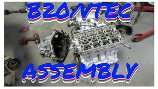 INTEGRA  B20/VTEC ASSEMBLY!  HSG EP.4-35