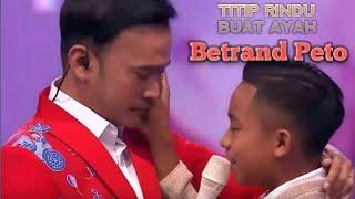 Download lagu TITIP RINDU BUAT AYAH- BETRAND PETO (lirik video)