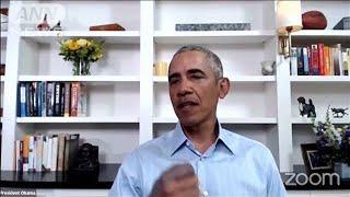 「平和的抗議に感謝」 オバマ前大統領が参加者称賛(20/06/04)