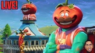 RIP TOMATO TOWN! Tomato Temple!! Lowkey Fortnite Live Stream