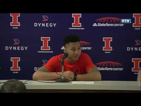 Illinois Players - Postgame Press Conference vs. Northwestern