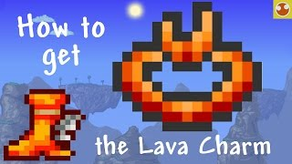 Terraria: How to get the Lava Charm and Lava Waders