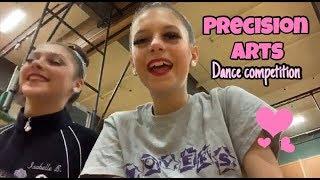Precision arts dance competition vlog!