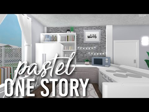 Bloxburg Pastel One Story 28k Youtube