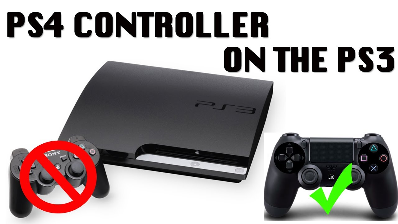 how to connect ps4 controller to ps3 youtube