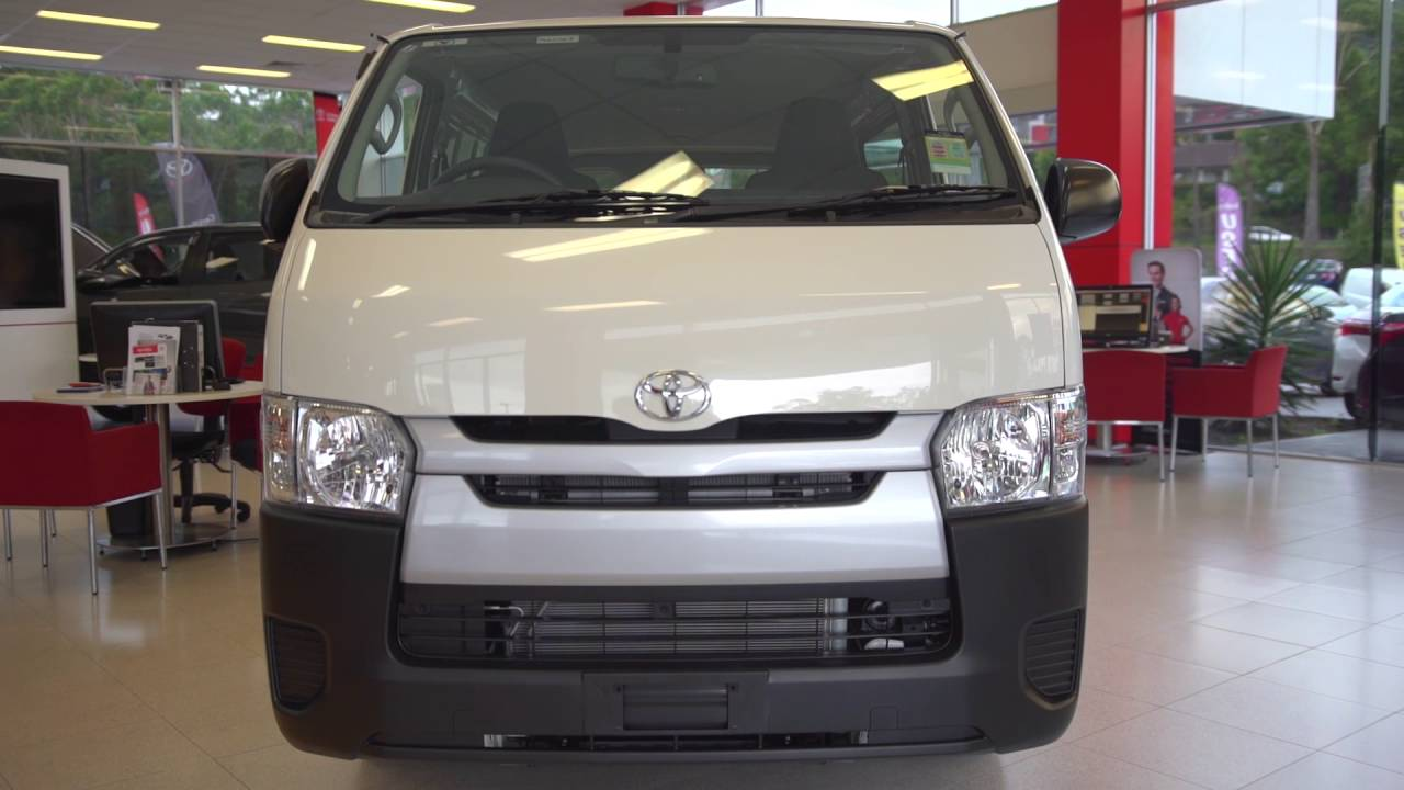 f14800d8b1 2016 TOYOTA HIACE AUSTRALIAN REVIEW HI-ACE - YouTube