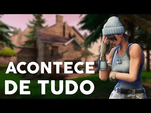 PARTIDAS INEXPLICÁVEIS - Fortnite Battle Royale