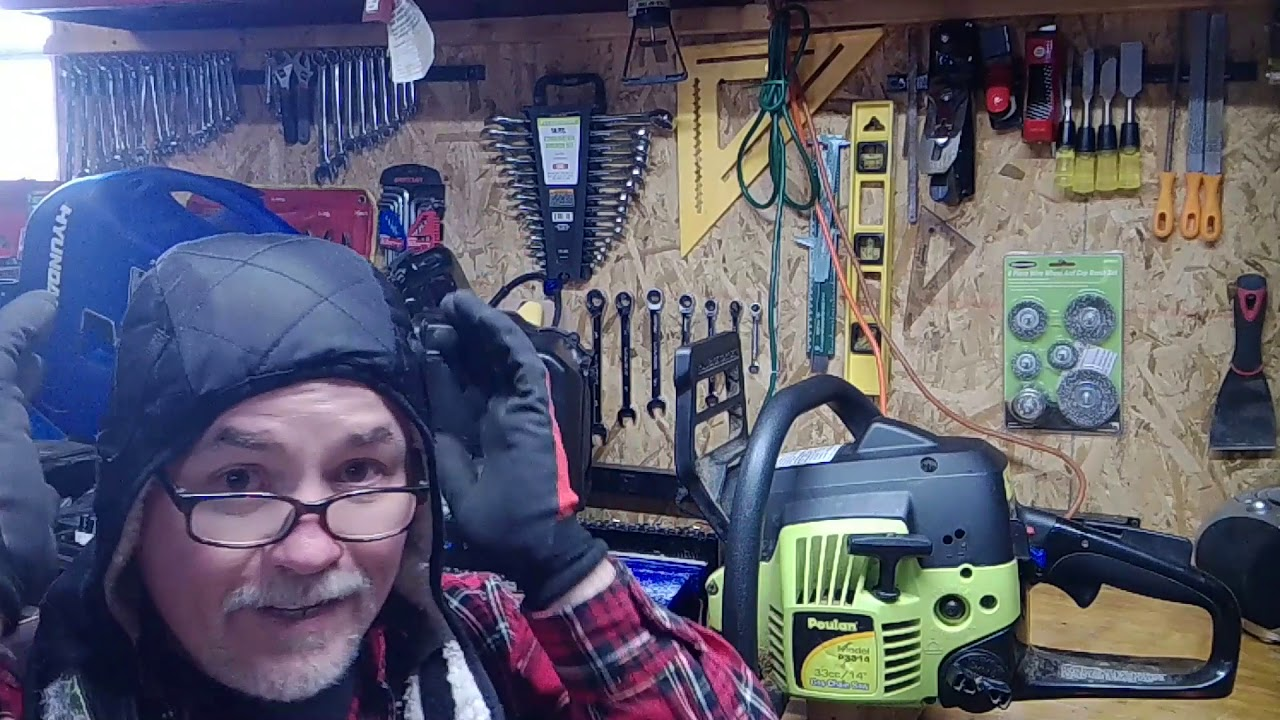 How to adjust/tune a Poulan chainsaw carburator - ucanfixit2