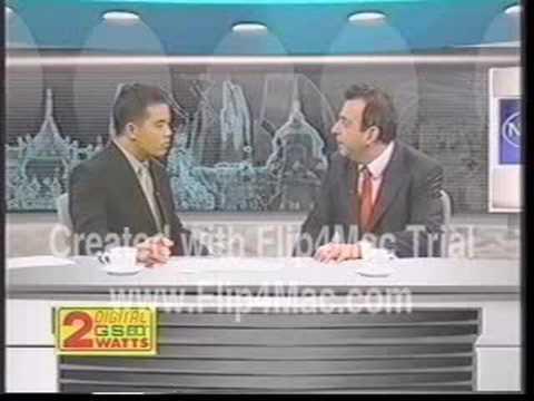 Professor Peskin Interview: Newsline Thailand, 2001