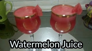 তরমুজের জুস | Watermelon Juice | How to make watermelon juice