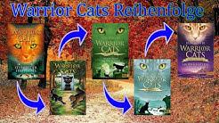Die Reihenfolge der Warrior Cats Bücher (Lesereihenfolge)