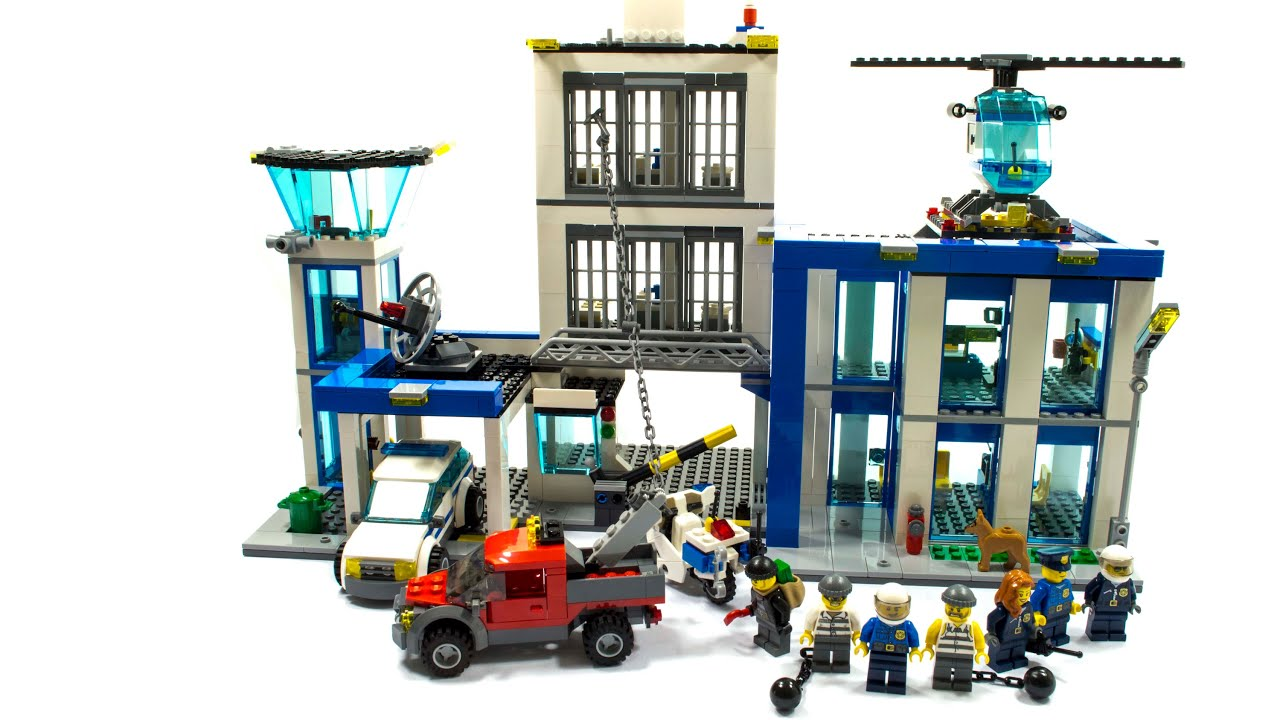 LEGO CITY 60047 UNBOXING AND BUILD POLICE STATION - YouTube