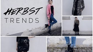 HERBST FASHION TRENDS 2016 + LOOKBOOK