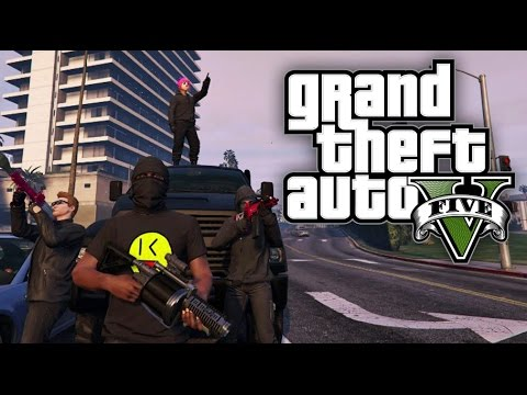 GTA 5 Online HEISTS - The Humane Labs Raid HEIST + FINALE! (GTA V Online)