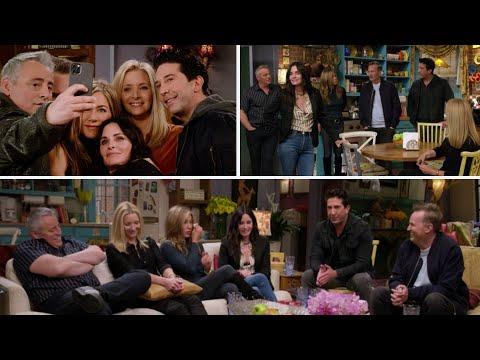 Friends actors meet in reunion
