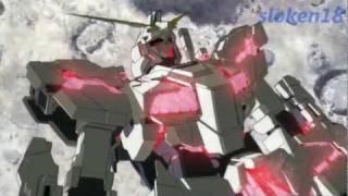Gundam Unicorn AMV - I will not bow [HD3D] [Sakura-Con 2012 entry]