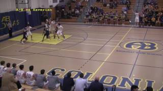 Acton Boxborough Varsity Boys Basketball vs Xaverian 1/15/17