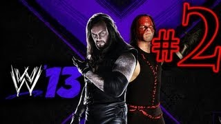 WWE 13 Attitude Era - Brothers Of Destruction Walkthrough Playthrough Part 2 HD