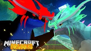 WINGS The STORMCUTTER FIGHTS the ALPHA STORMCUTTER! - Minecraft Dragons