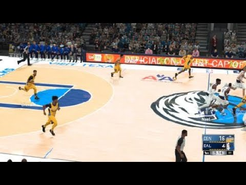 NBA 2K18 My own improvement of Mavericks court