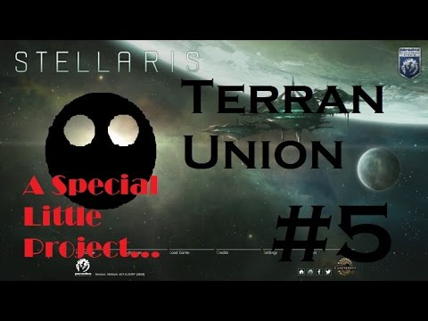 Stellaris Terran Union Part 5: We can build ships bigger than Corvettes!?