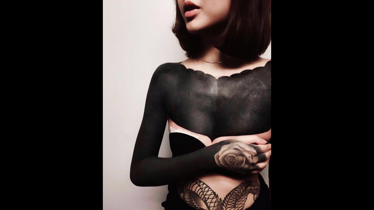 Девушки полностью в татуировках 92