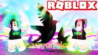 THIS RAVEN IS RAVING ON ROBLOX | FEATHER FAMILY ROLEPLAY