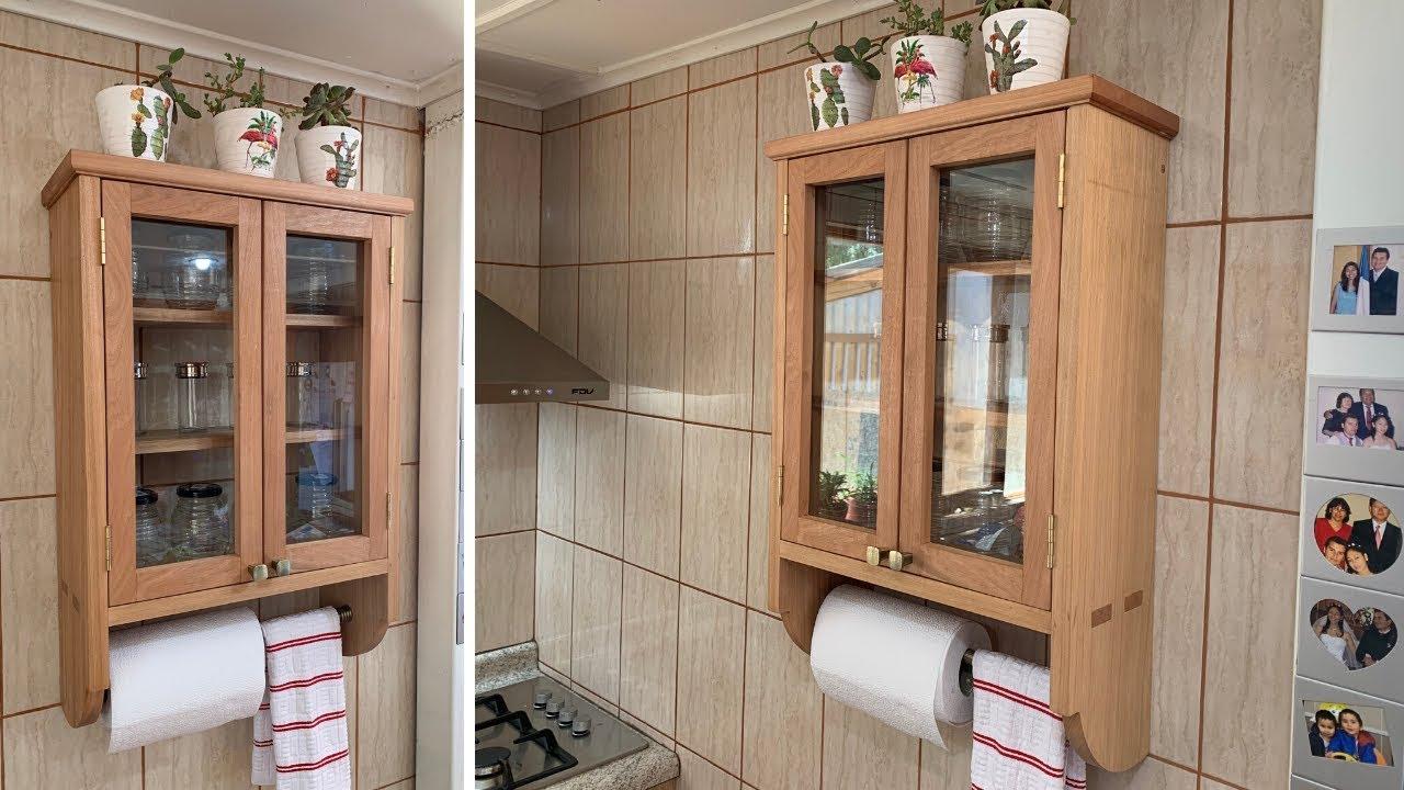 Mueble de cocina de madera - carpintería artesanal