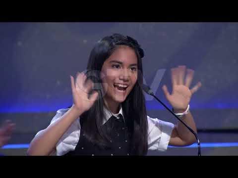 Spelling Bee CHALLENGE! Tora Sudiro VS Matheo | Little Big Shots Indonesia #4 GTV 2017