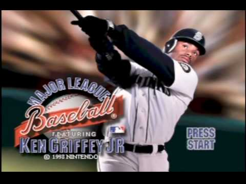 9883edfc8d Griffey MLB N64 Theme Song - YouTube