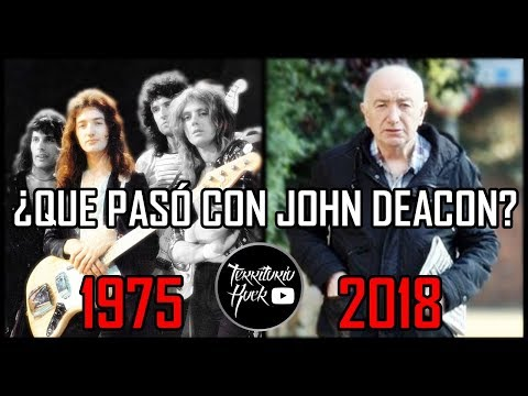 ►¿Que paso con John Deacon? El legendario bajista de QUEEN   Territorio Rock