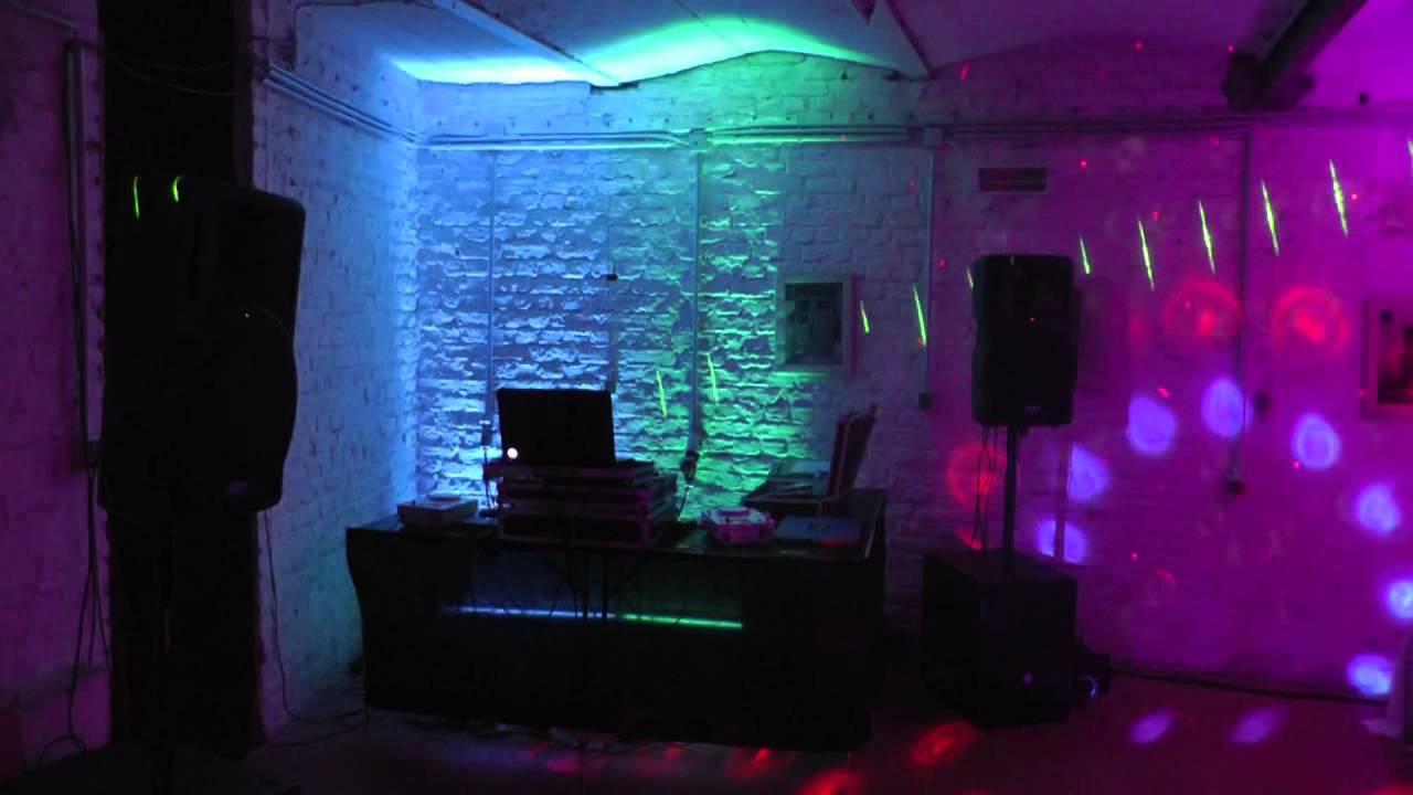 Partyraum  Uplighting Ambiente Beleuchtung Illumination