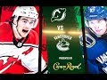 (First Shootout Game) Vancouver Canucks Vs New Jersey Devils-Mar.15.2019