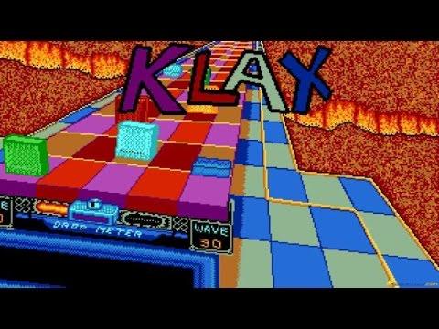 Klax gameplay (PC Game, 1989) thumbnail