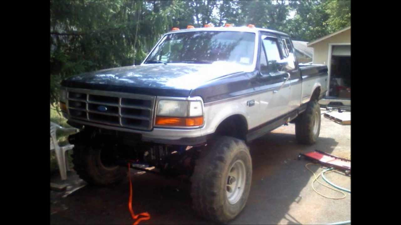 1991 f150 4x4 swap
