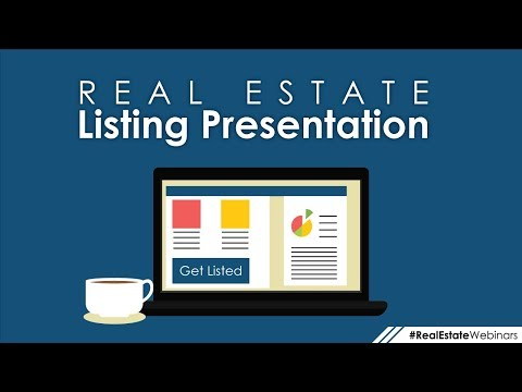 Real Estate Listing Presentation Ideas & PowerPoint Template
