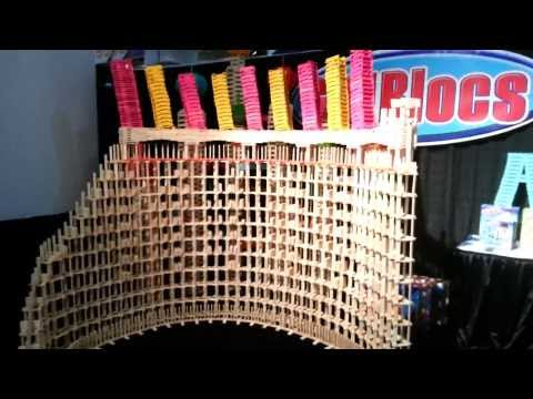 HTK#44 - Citiblocs Toy Fair 2014 day 4: tilted towers