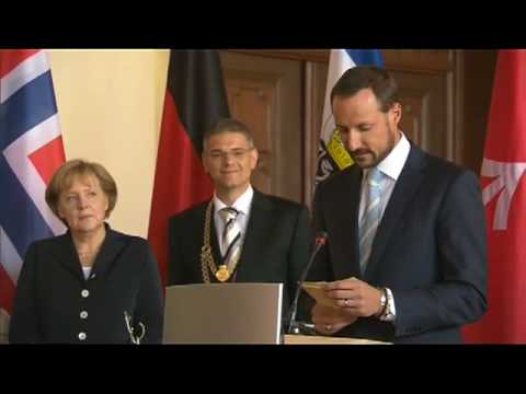 The Crown Prince and Crown Princess in Germany